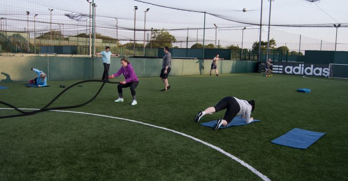 Bootcamp sessions at TPTS fitness club Swansea
