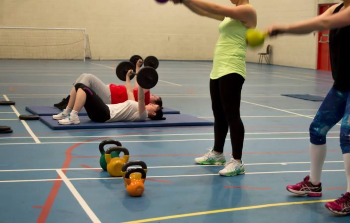 Bootcamp sessions at TPTS Fitness which are great for beginners all the way up to fitness professionals.
