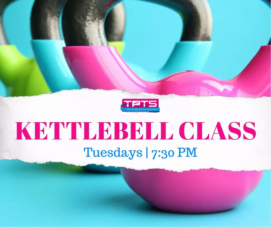 TPTS Fitness Club is now providing the best kettlebell class in Swansea every Tuesday at 7.30pm