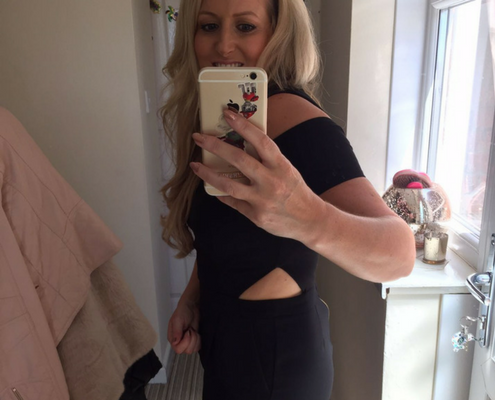 Alison Lloyd After picture, Alison used the amazing 6 week transformation program and the TPTS Fitness club, best gym in Swansea