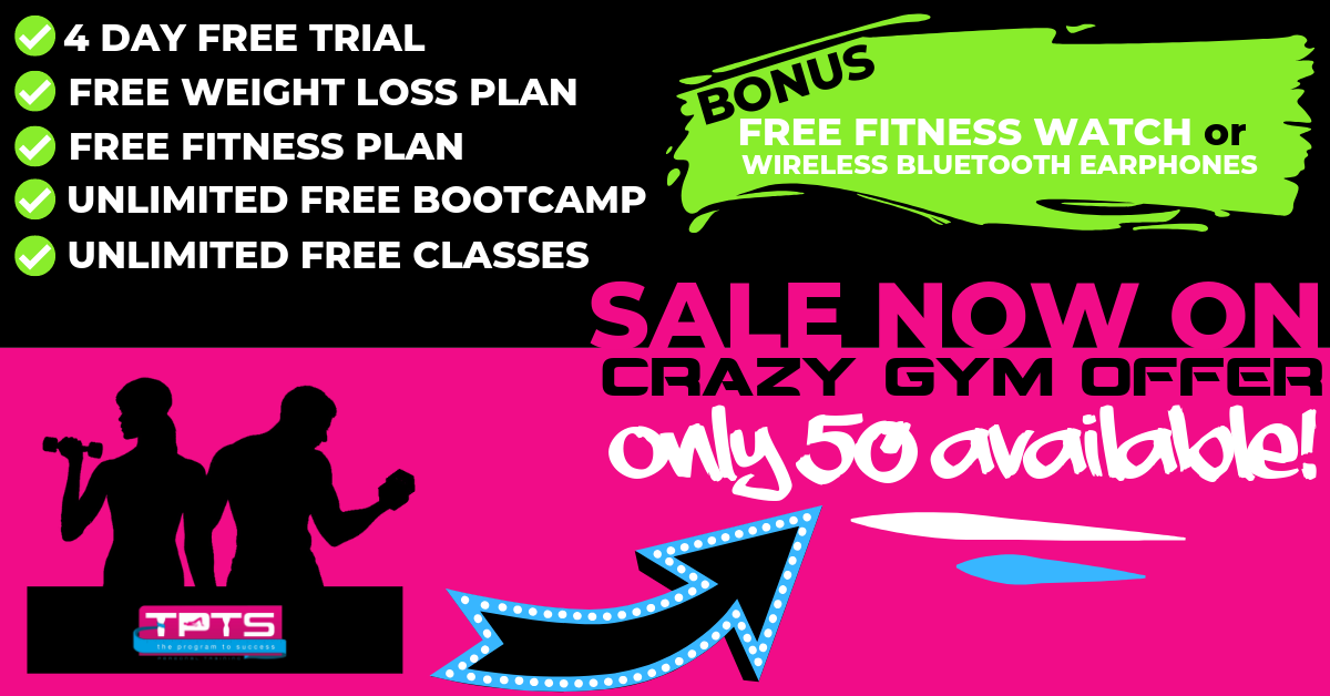 Copy of Gym offer - Fitness Club, Gym & Personal Trainer Swansea